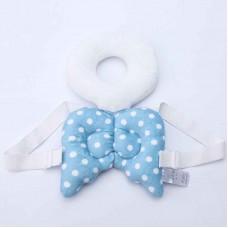 Almofada Mochila Proteção de cabeça para bebês Anjo azul