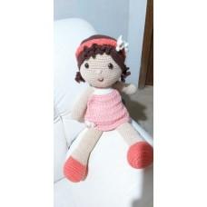 Boneca de Crochê Amigurumi BC002P