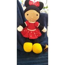 Boneca de Crochê Amigurumi BC001P