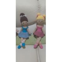 Boneca de Crochê Amigurumi BC021P