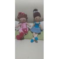 Boneca de Crochê Amigurumi BC029P