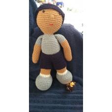 Boneca de Crochê Amigurumi BC005P