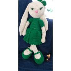 Boneca de Crochê Amigurumi BC004P