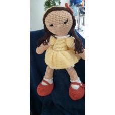 Boneca de Crochê Amigurumi BC008P