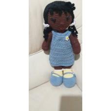 Boneca de Crochê Amigurumi BC010P