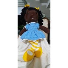 Boneca de Crochê Amigurumi BC009P