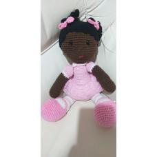 Boneca de Crochê Amigurumi BC011P