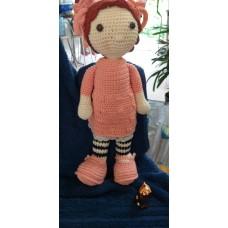 Boneca de Crochê Amigurumi BC013P