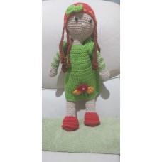 Boneca de Crochê Amigurumi BC015P
