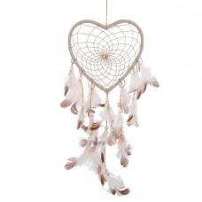 Filtro dos Sonhos Branco Coração